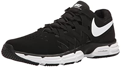 8b3bf5565eb Nike Men s Lunar Fingertrap Tr Black White Black Training Shoe 10. 5 Men