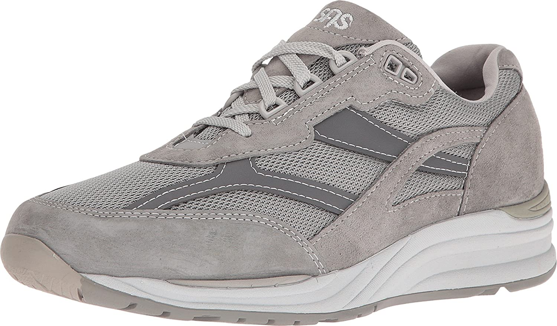 SAS Mens Journey Mesh Walking Shoe Gray 11 N