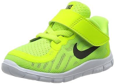 brand new ae10c aa0ba Amazon.com: Nike Free 5.0 Toddler Boys Shoe Volt/Electric ...