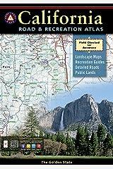 California Road and Recreation Atlas (Benchmark Atlas) Paperback