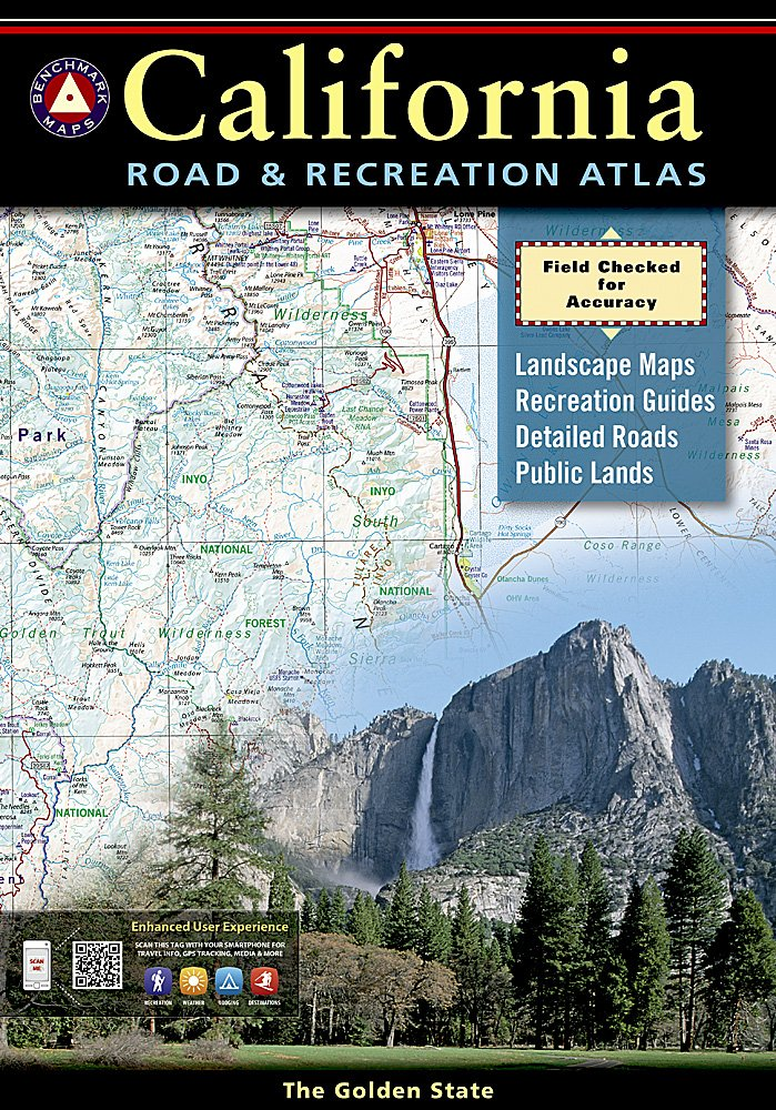 Benchmark California Road & Recreation Atlas by Benchmark