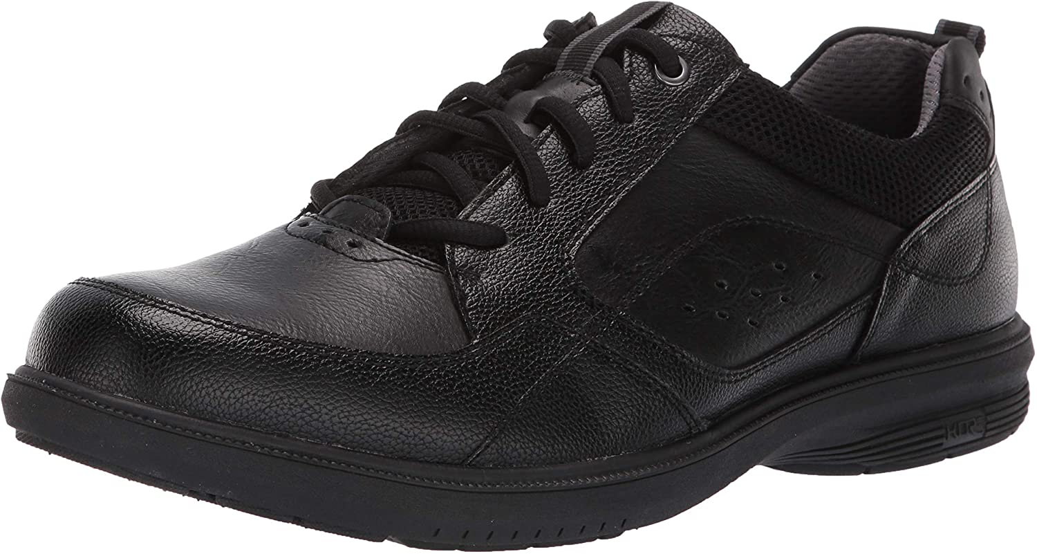 Nunn Bush Men Moccasin Toe Oxford Lace Up with KORE Comfort Walking Technology