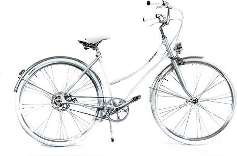 BYCLY Filadelfia - Bicicleta de Ciudad para Mujer de una Sola ...