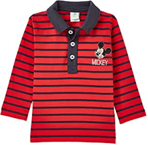 Disney Lollipop Single Lycra Stripe Polo - 12 to 18 Months