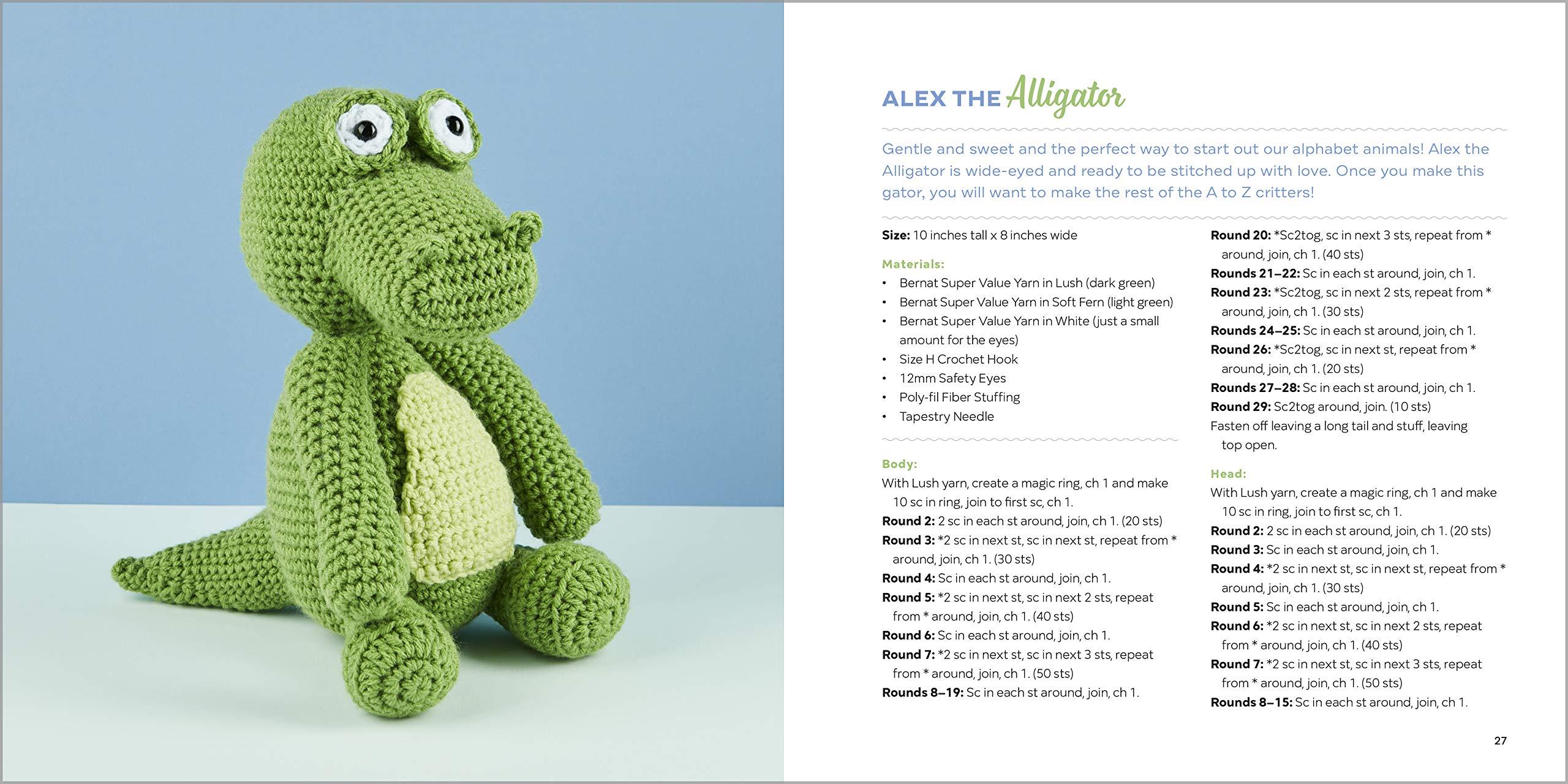 Crocheting an Amigurumi Alligator! (Or a Crocodile.) / Leisure ... | 1280x2560