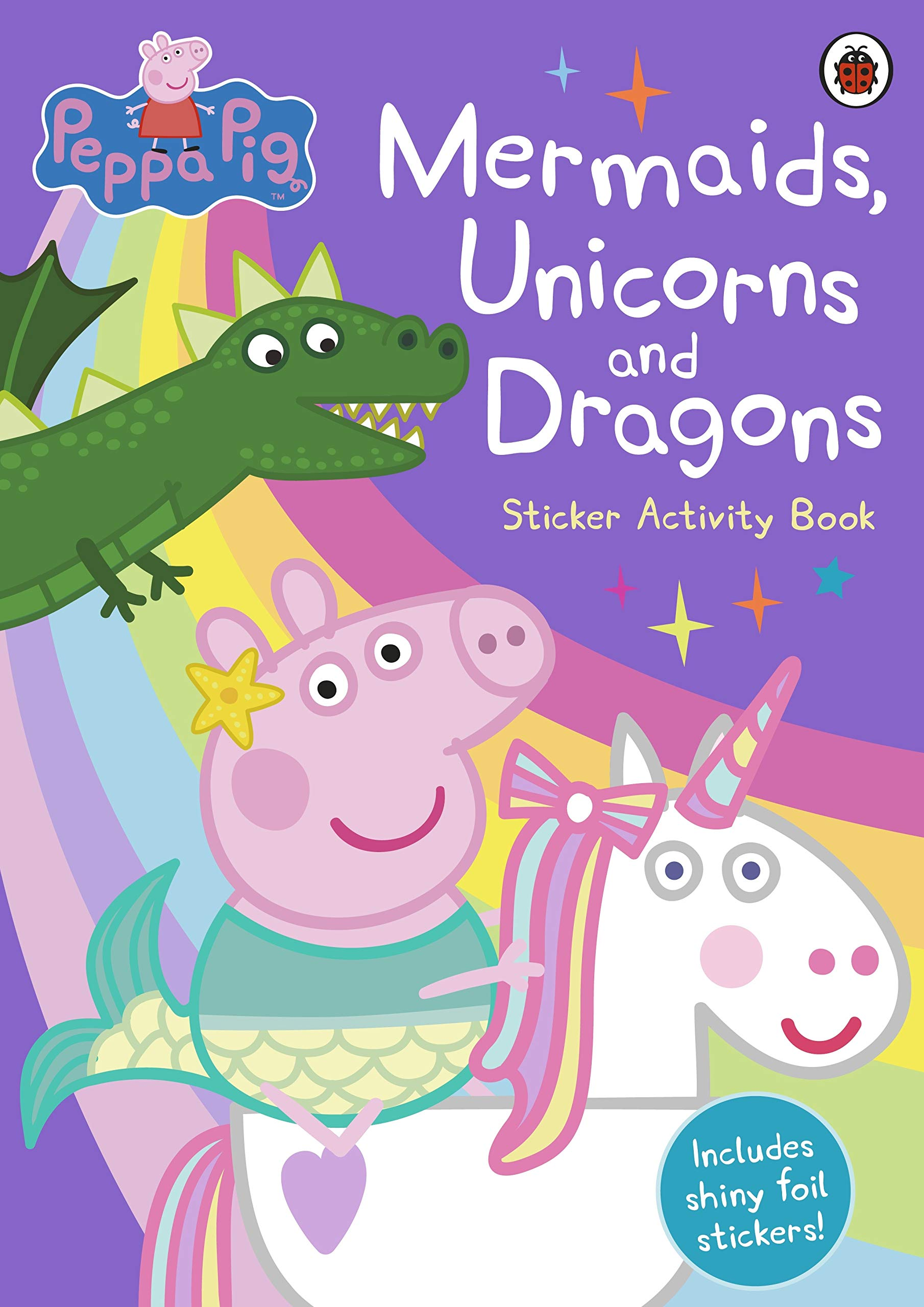 Peppa Pig  Mermaids Unicorns And Dragons Sticker Activity Book