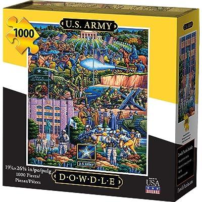 Dowdle Jigsaw Puzzle - U.S. Army - 1000 Piece: Toys & Games