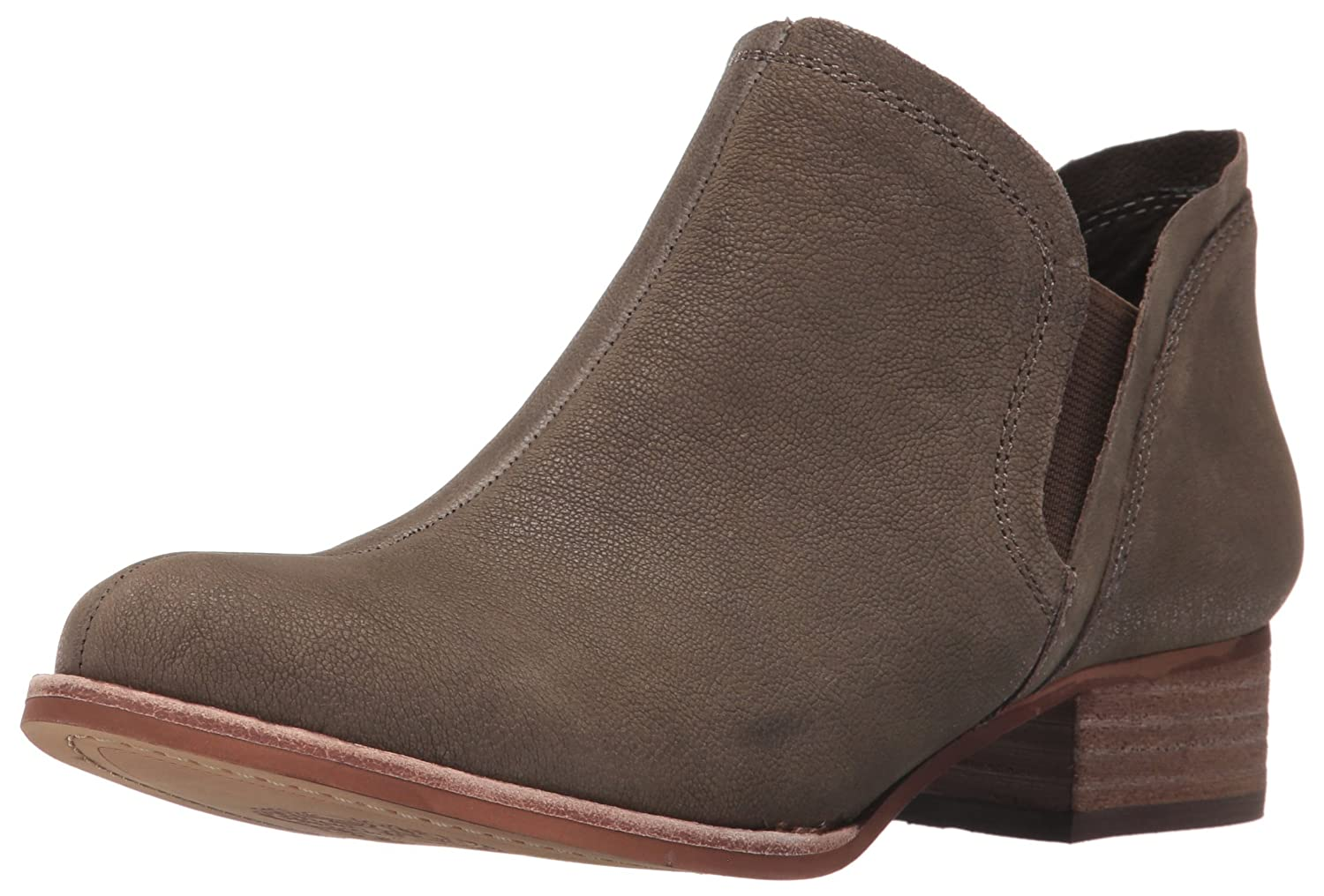 Vince Camuto Women's Carlal Ankle Bootie B01J6E2F1C 5.5 B(M) US|Forest Grey