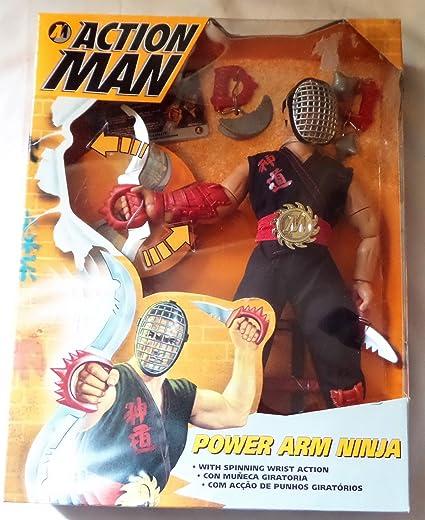 Amazon.es: Action Man Power Arm Ninja Hasbro 1995 Rare ...
