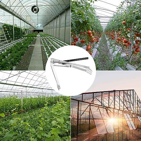 Fensterheber Plantiflex Automatischer Fenster/öffner Temperaturgesteuert mit 7 kg Hubkraft f/ür Gew/ächshaus Treibhaus Fr/ühbeet autom