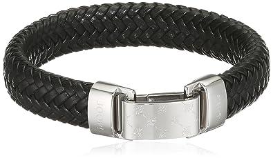 Joop schmuck  Joop Herren-Armband Edelstahl Leder 21.5 cm - JPBR10620A215 ...