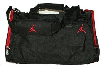 b674b96a7db357 Jordan Jumpman 23 Nike Duffle gym sports Bag tote travel Bag Black ...