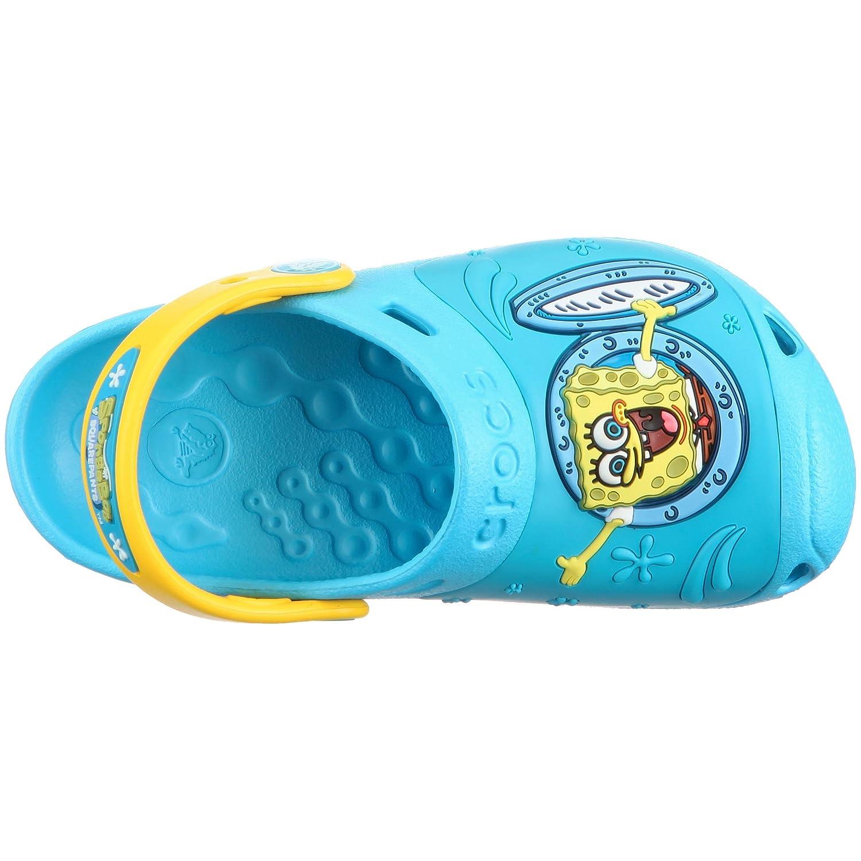 e242dab92fdb Crocs Toddler Junior Spongebob Ahoy Clog