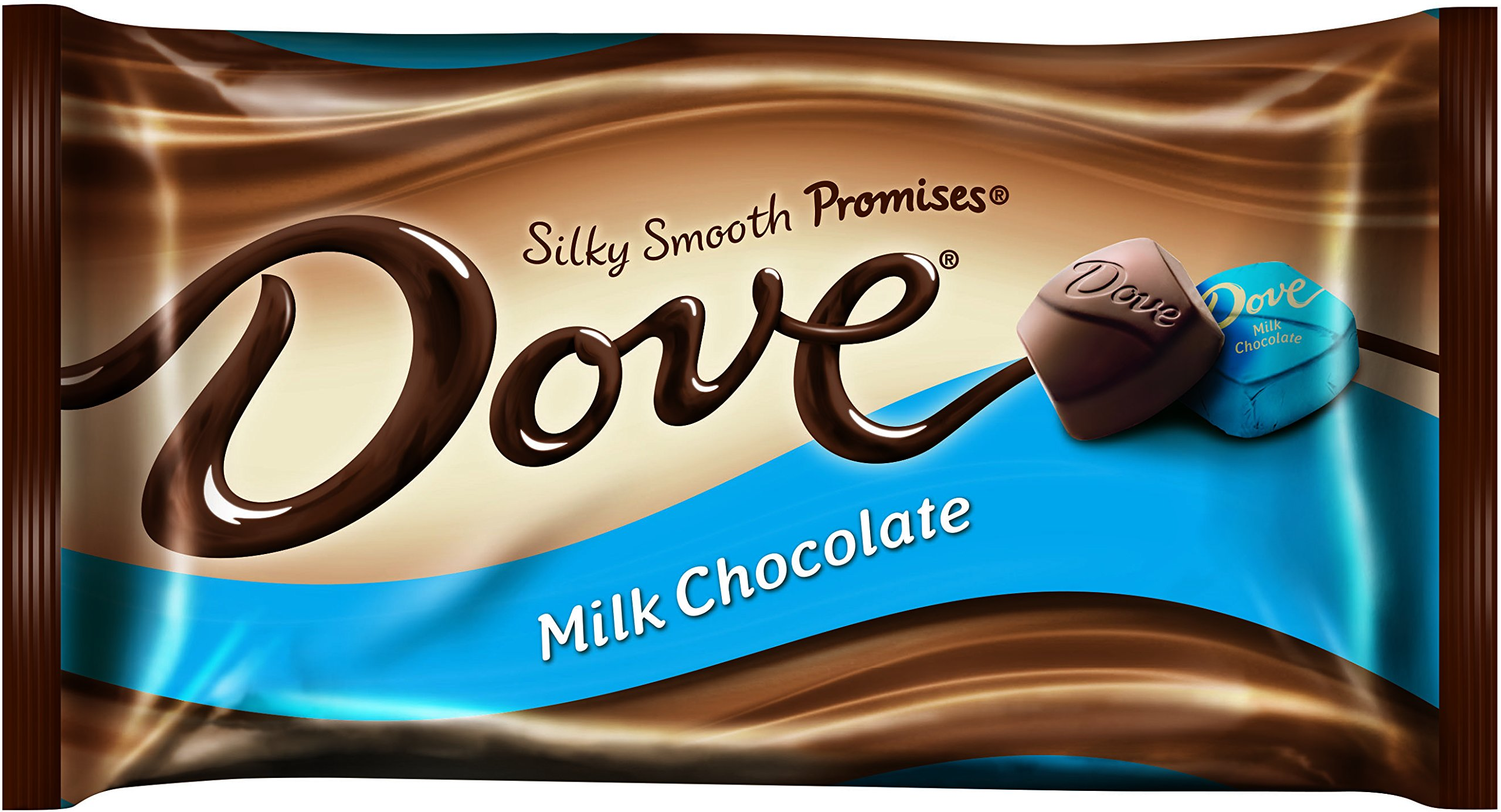 Dove Milk Chocolate, Silky Smooth Promises, 9.5-Ounce Packages (Pack of 4) by Dove