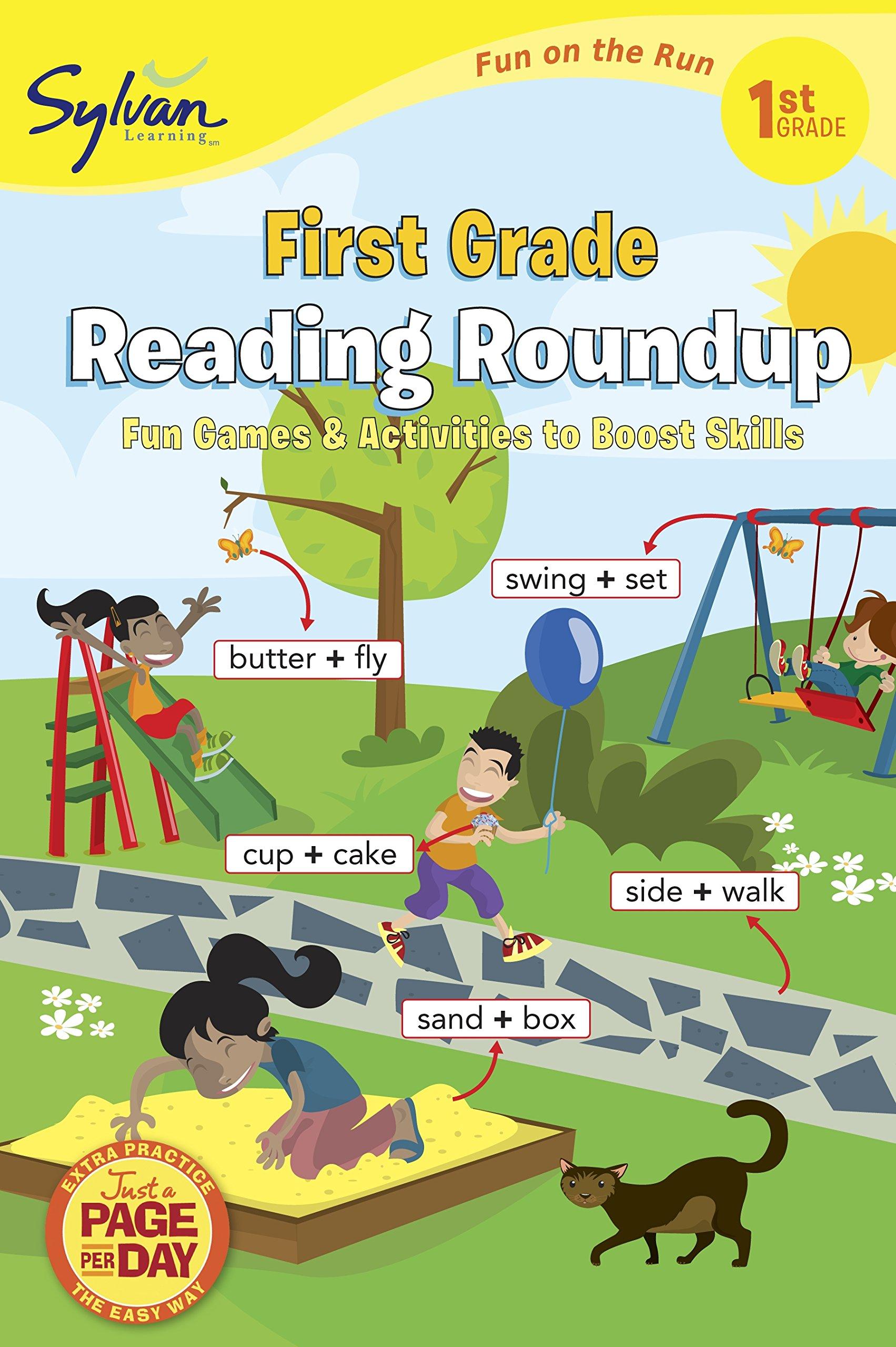 1st Grade Reading Roundup (Sylvan Fun on the Run Series) (Sylvan Fun on the Run Series, Language Arts) pdf epub