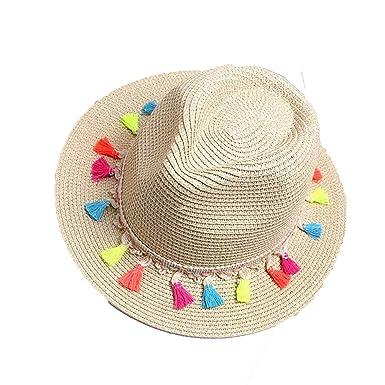 Women s Beach Sun Hats 2018 Summer Fashion Candy Edge Strawberry Jazz  Panama Fedora Trilby Sun hat ee0b6dfeca3
