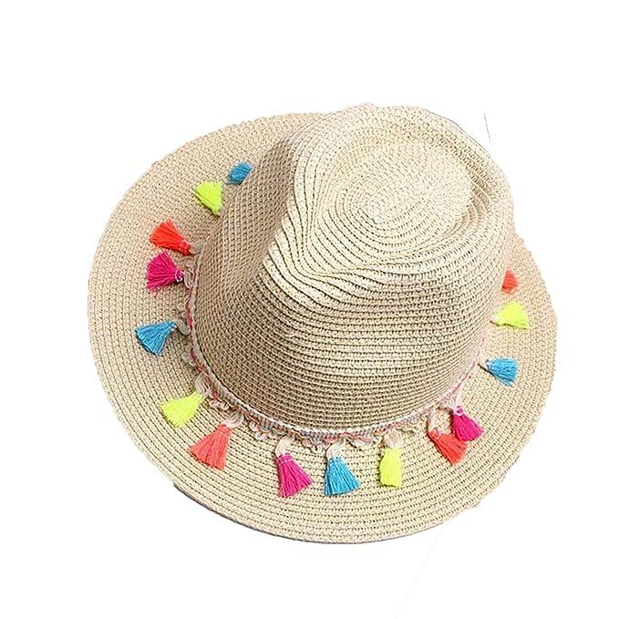 Women s Beach Sun Hats 2018 Summer Fashion Candy Edge Strawberry Jazz  Panama Fedora Trilby Sun hat 1131900fb7df