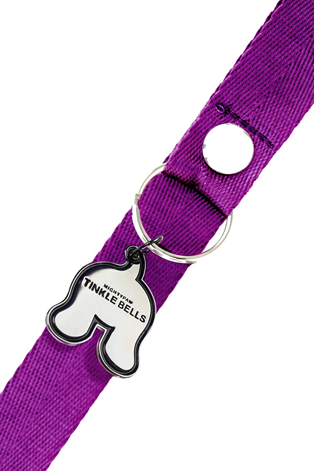 Includes Free Wall Hook Housetraining Doggy Door Bells for Potty Training Premium Quality Dog Doorbells Mighty Paw Tinkle Bells