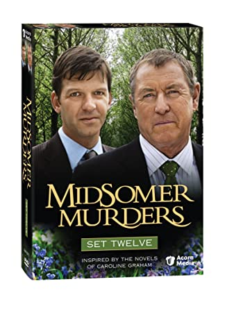 Midsomer Murders Set 12 Four Funerals And A Wedding Country Matters Death
