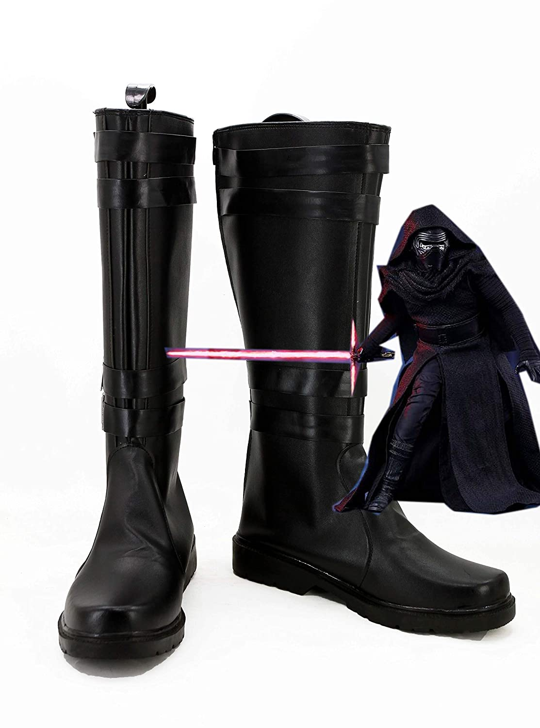 Movie Kylo Ren Cosplay Shoes Sith Cosplay Costume Boots Custom Made