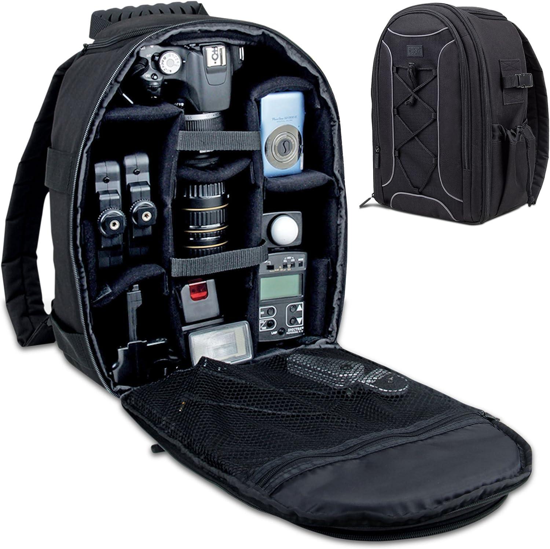 Digital Camera Bag Backpack Photo SLR DSLR Case For Nikon Sony Canon