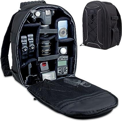 SLR DSLR Lens Camera Bag Carry Case Backpack For Nikon Canon EOS Sony Cover