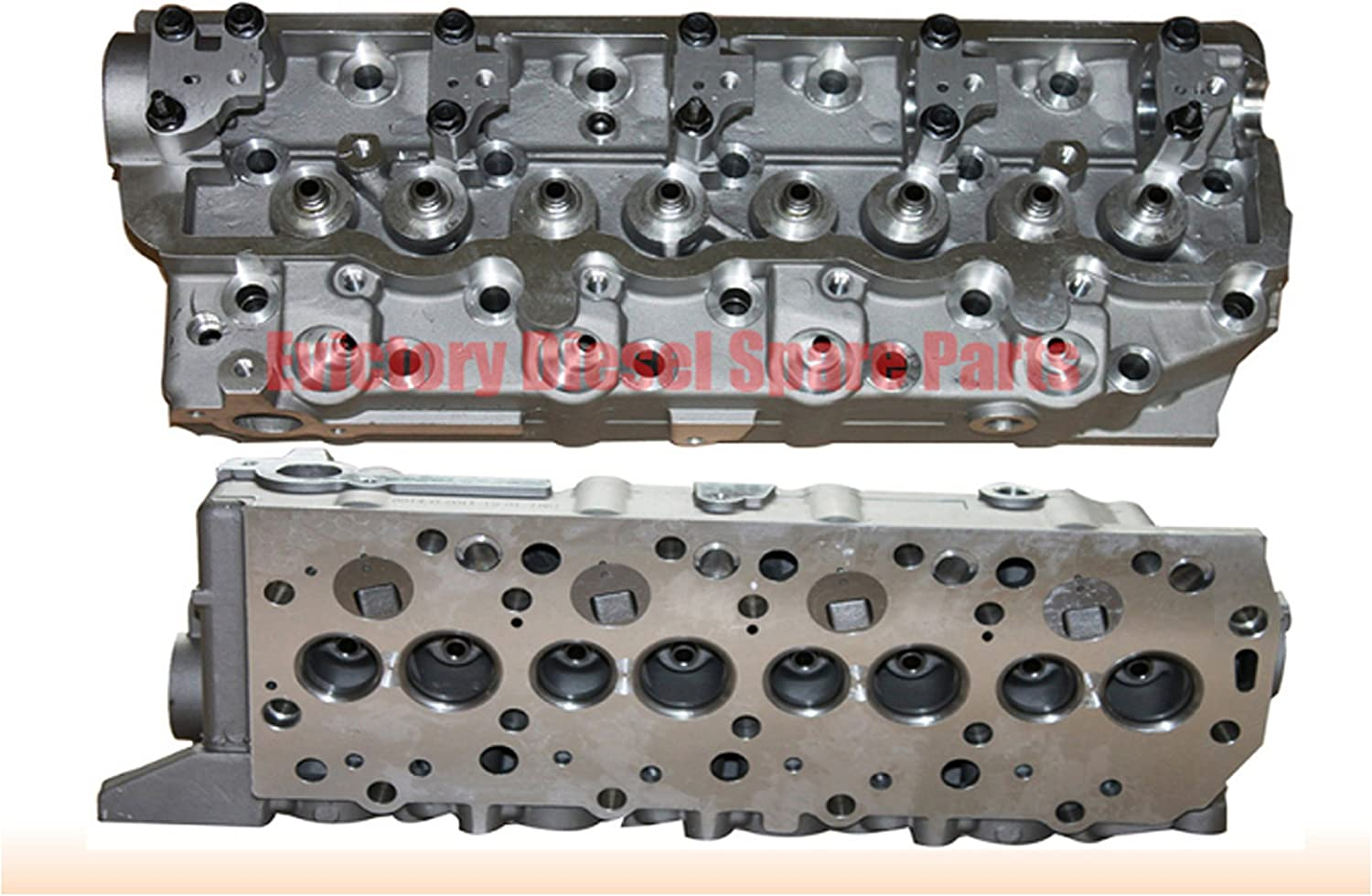 DNA Motoring CYLH-MIT-4D56-BARE 4D56//4D56T Engine OE Style Aluminum Bare Cylinder Head