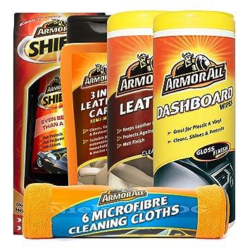 Armor All Shield cera, 3 en 1 Cuidado de la piel, piel toallitas,