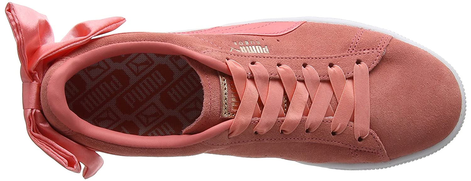 Puma Damen Suede Bow WN's WN's WN's Sneaker Pink (Shell Pink) fc1038