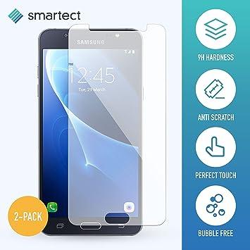smartect Protector de Pantalla para Samsung Galaxy J7 2016 [2 Unidades]: Amazon.es: Electrónica
