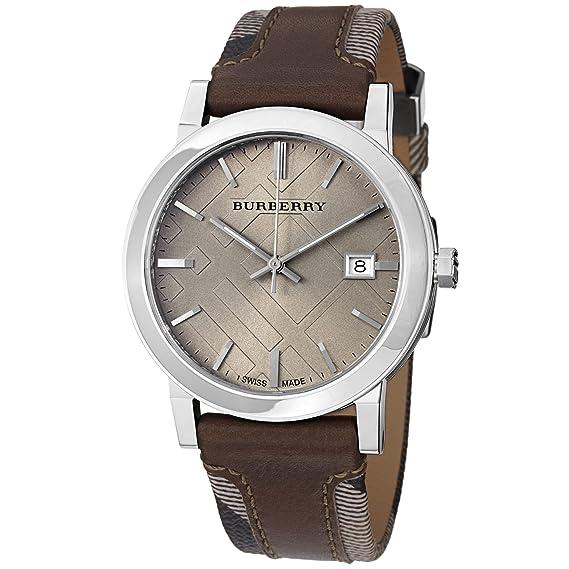 Burberry Heritage Reloj para Hombre Analógico de Cuarzo con