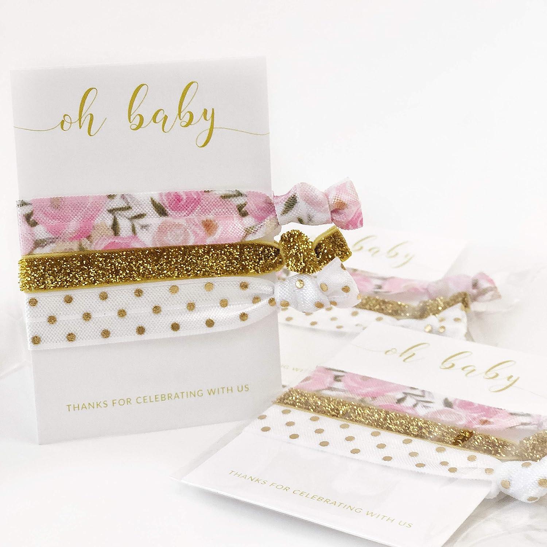 baby shower loot bag bridal shower hair tie wholesale party favors rainbow hair ties rainbow favors Pack of Tie Dye Hair Ties