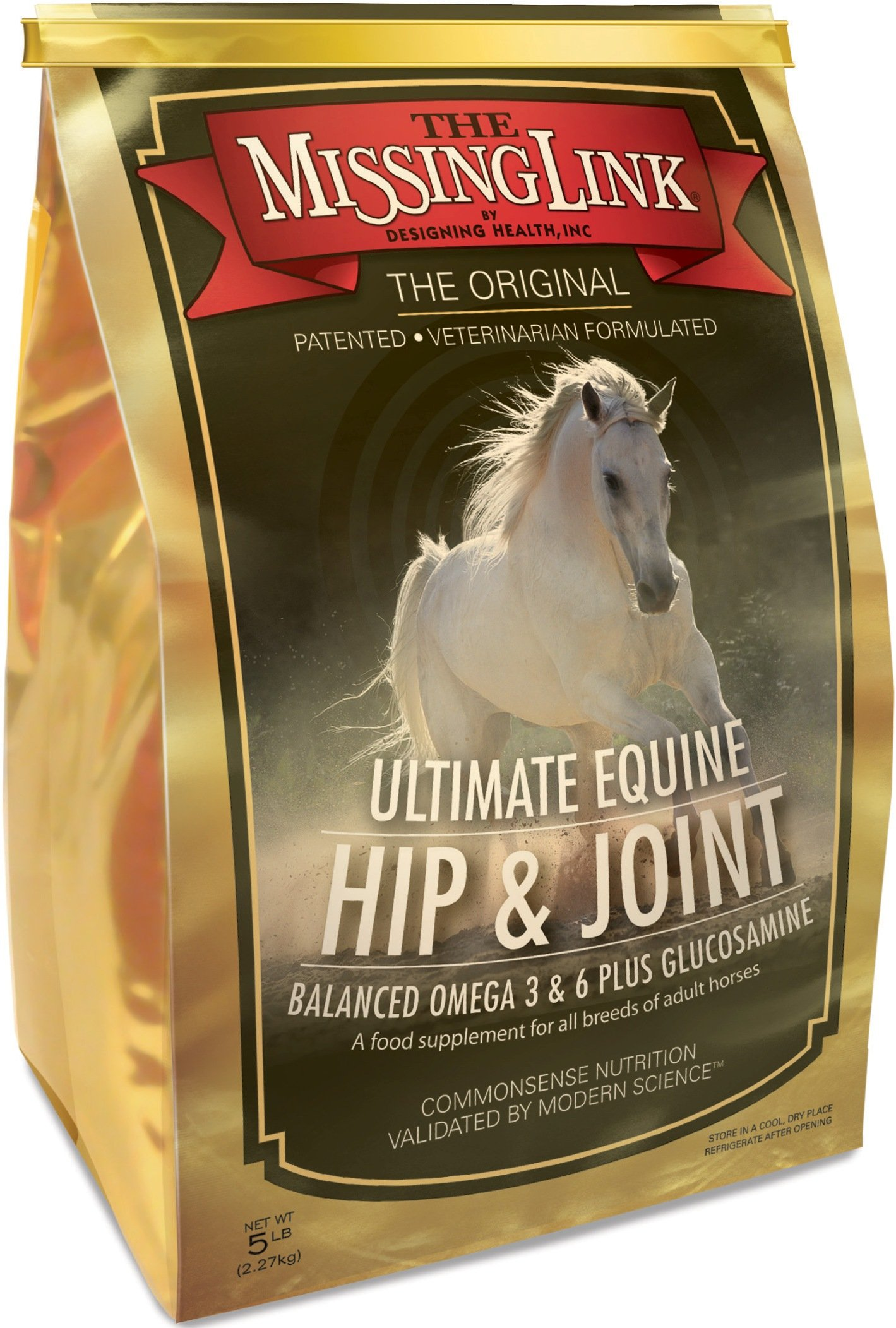 The Missing Link 5-Pound Equine Plus Formula with Joint Support for Horses by The Missing Link