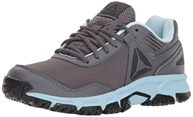 1acdd2dcba609b Reebok Women s Ridgerider Trail 3.0 Walking Shoe ash Grey Dreamy Blue blac  5 M