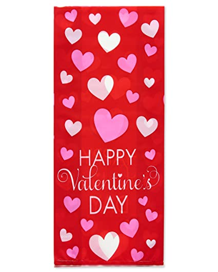 Amazon american greetings 20 count 458 valentines day party american greetings 20 count 458 valentines day party treat bags m4hsunfo