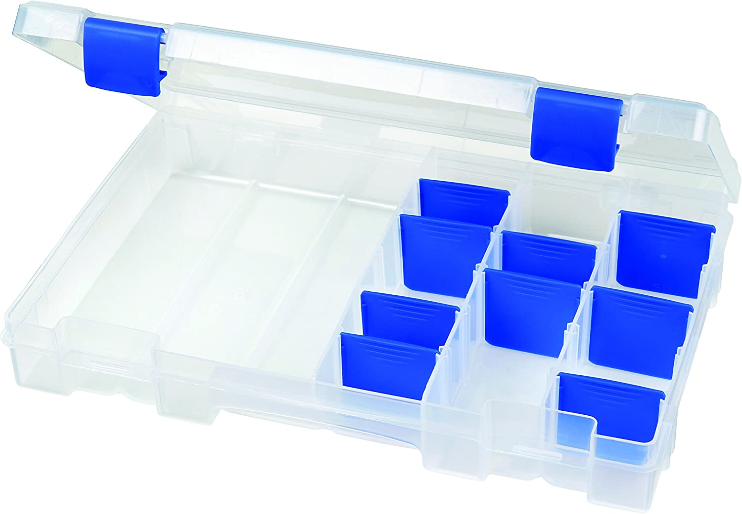 Flambeau Outdoors 4004 Tuff Tainer – 20 Compartments – Half Bulk Includes 12 short and 3 long Zerust dividers