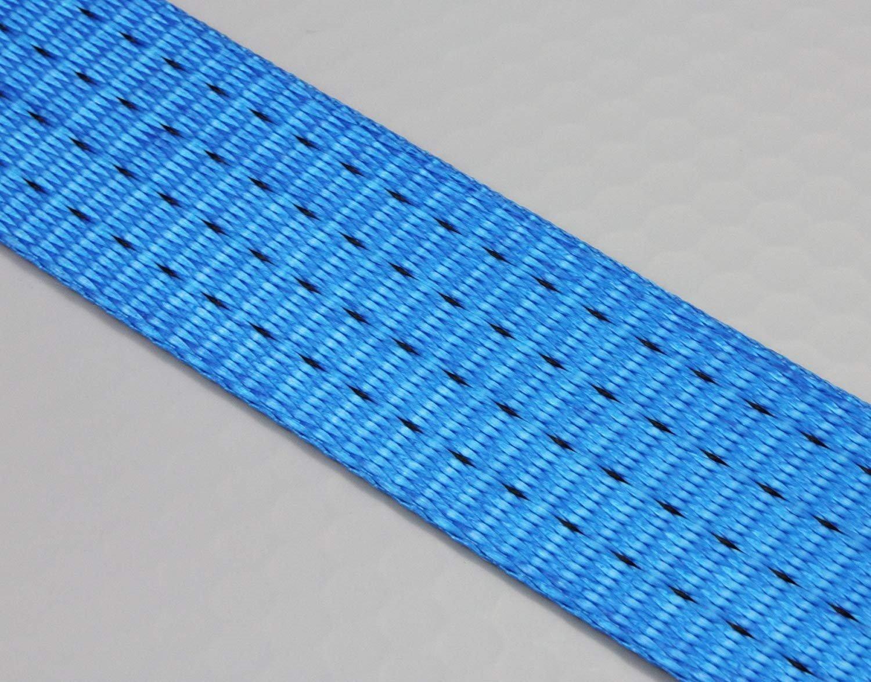 inkl blau 50 mm 2 tlg Basic Slackline Set 17,5 m Baumschutz