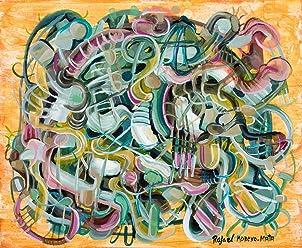 Alejandro IV Pintura Abstracta Original Hecha A Mano