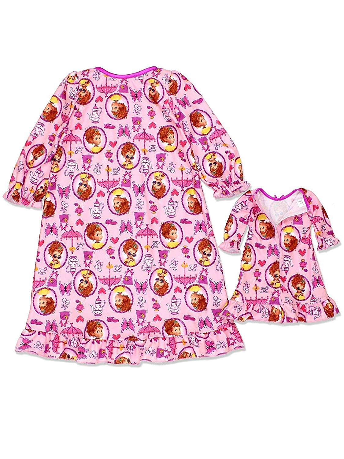 0a9bcd057dc8 Amazon.com  Fancy Nancy Toddler Girls Flannel Granny Gown Nightgown ...