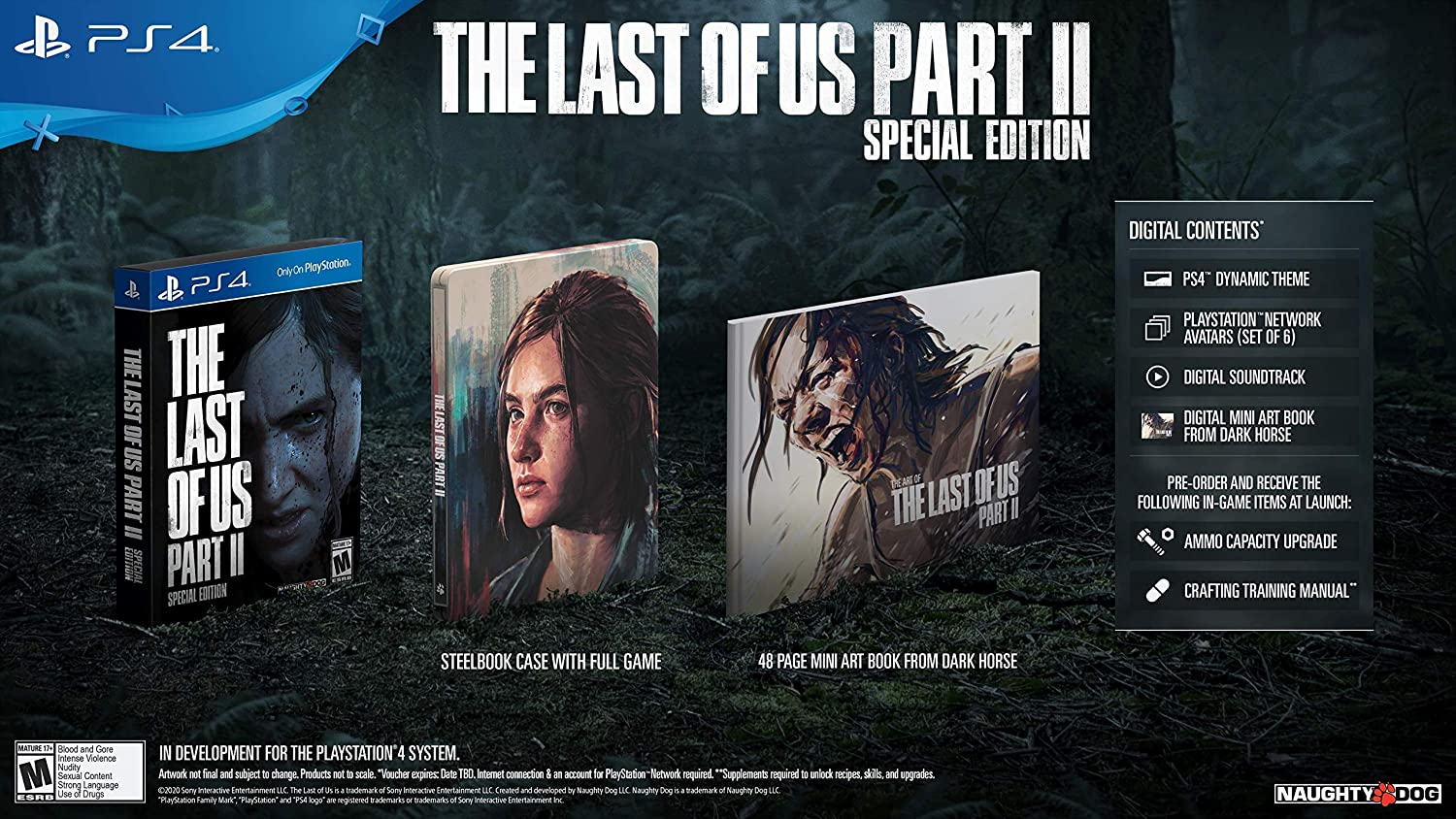 The Last Of Us Part Ii Playstation 4 Special Edition Video Games