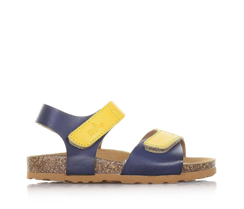 BIONATURA - Blaue und gelbe Sandale aus Leder, ausschließlich made in Italy,  Jungen: Amazon.de: Schuhe & Handtaschen