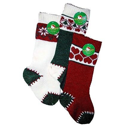 35be80e39 Amazon.com  Kurt Adler Heavy Knit Stocking