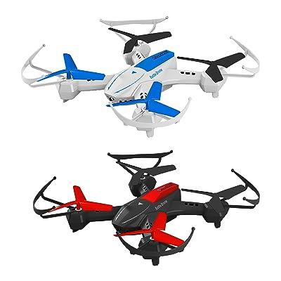 Space Rails Quadcopter Battle Drones Combo Set.
