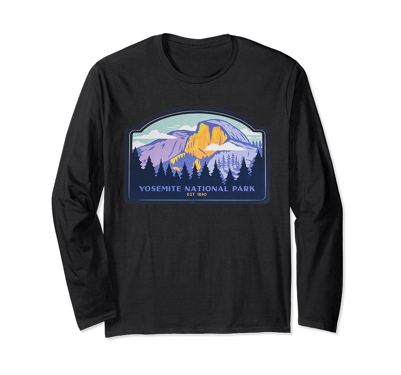 Yosemite National park California Long sleeve shirt-ah my shirt one gift