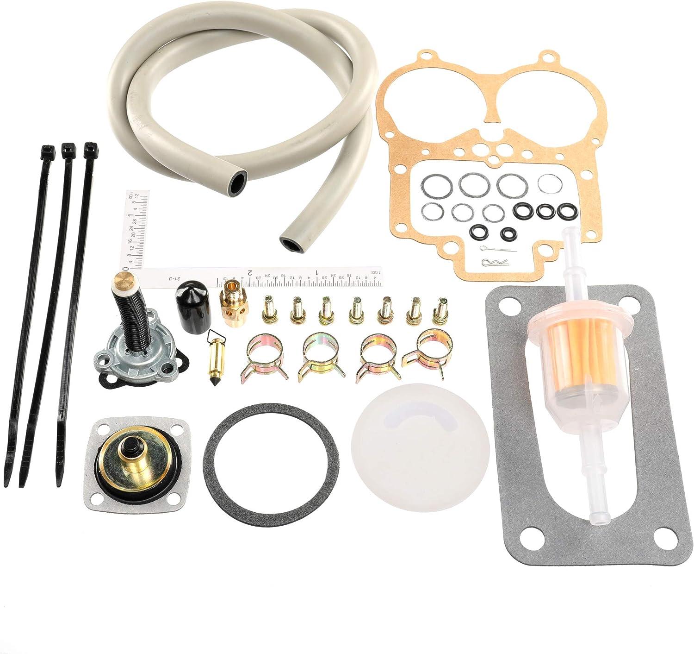 Unepart Carburetor Rebuild Kit for Weber 32 36 DGV DGAV DGEV Carburetor Replaces 92-3237-05: Automotive