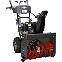 Briggs and Stratton Dual-Stage Snow Thrower with 208cc Engine and Electric Start