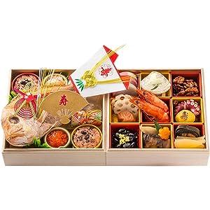 お食い初め 豪華 二段セット 日本橋正直屋 和食伝統料理の老舗 これ一つでお食い初めの儀式が出来ます (リニューアルお食い初め)