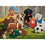 Ravensburger Let's Play Ball Puzzle 200pc,Children's Puzzles