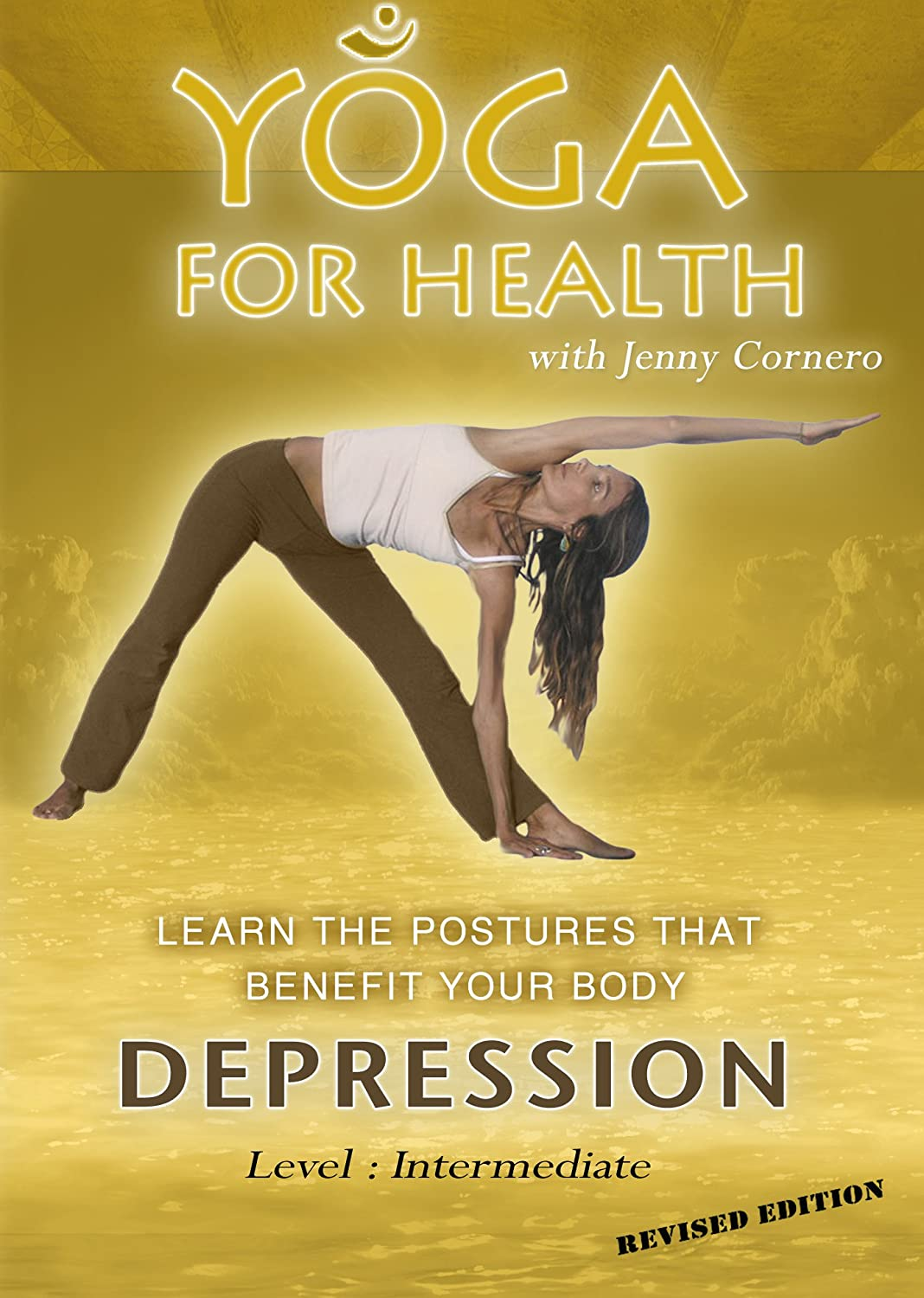Yoga For Health DEPRESSION With Jenny Cornero PAL DVD Reino ...