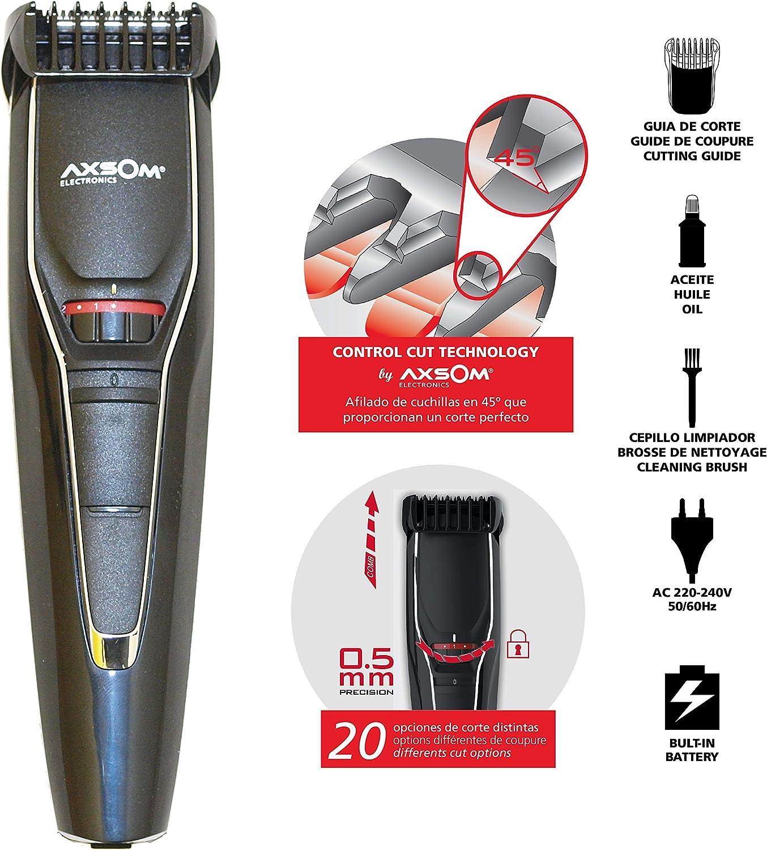 AXSOM ELECTRONICS - Maquinilla de Cortar barba, Cortapelo ...